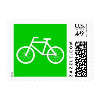 Bicycle postage stamps | bike riding design