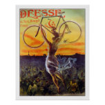 Bicycle Poster/Print: Vintage French Poster ~