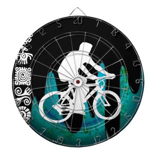BICYCLE PRODUCTS DARTBOARD WITH DARTS