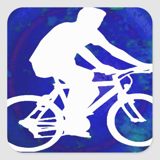 BICYCLE PRODUCTS SQUARE STICKER
