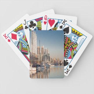 Bicycle® Puerto deportivo y Barcos #1 Baraja Cartas De Poker