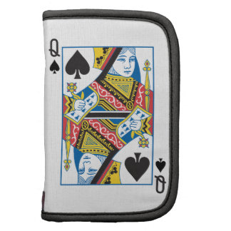 Bicycle® Queen of Spades Planners