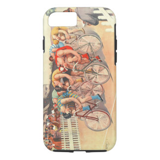 Bicycle Race 1895 iPhone 7 Case