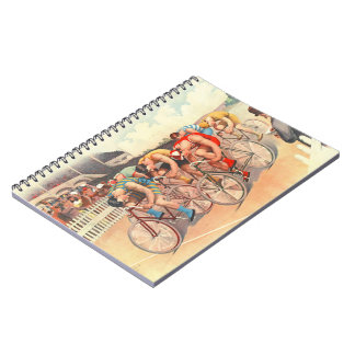 Bicycle Race 1895 Notebook