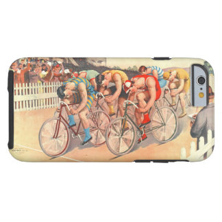 Bicycle Race 1895 Tough iPhone 6 Case