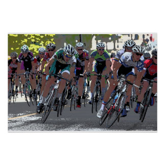 Bicycle Race 36 x 24 Poster