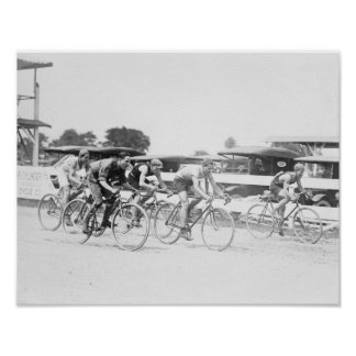 Bicycle Race in Washington DC Photograph Poster