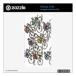 Bicycle Race iPhone 4S Decal