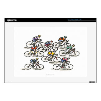 Bicycle Race Skins For Laptops