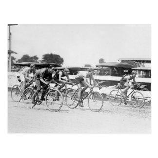 Bicycle Race, Washington, D.C.: 1925 Postcard