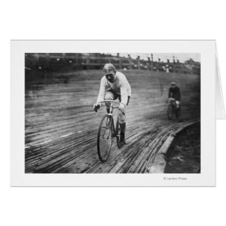 Bicycle Racer at the 6-day Washington DC Race Cards