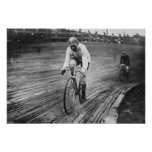 Bicycle Racer at the 6-day Washington DC Race Print
