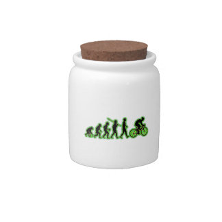 Bicycle Racer Candy Jars