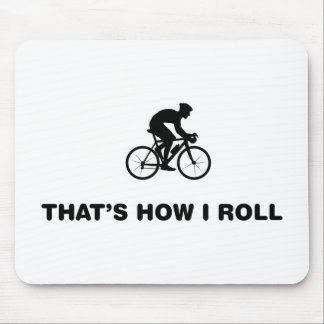 Bicycle Racer Mouse Pad