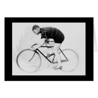 Bicycle Racer Norman Anderson 1914 Card