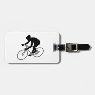 Bicycle racing bag tags