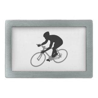 Bicycle racing belt buckles