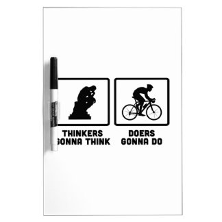 Bicycle Racing Dry-Erase Board