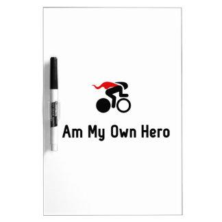 Bicycle Racing Hero Dry Erase Board