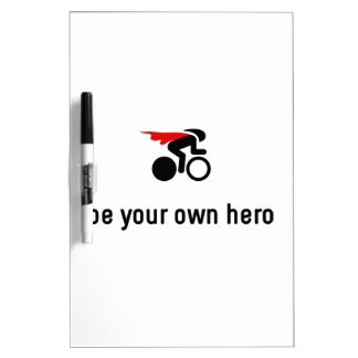 Bicycle Racing Hero Dry-Erase Board