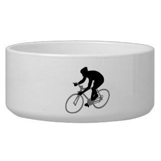 Bicycle racing dog bowls