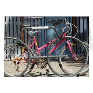 Bicycle Rack Card