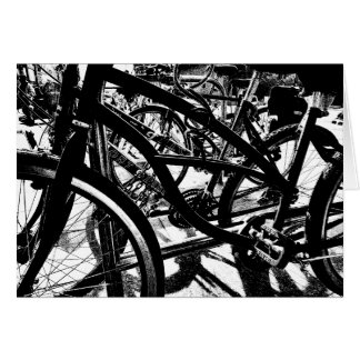Bicycle Rack HC Card