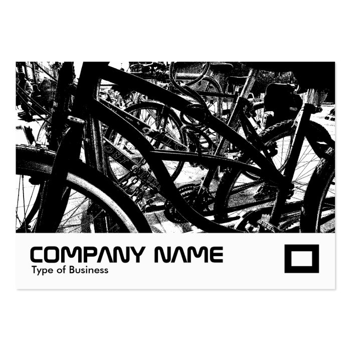 Bicycle Rack HC Large Business Card