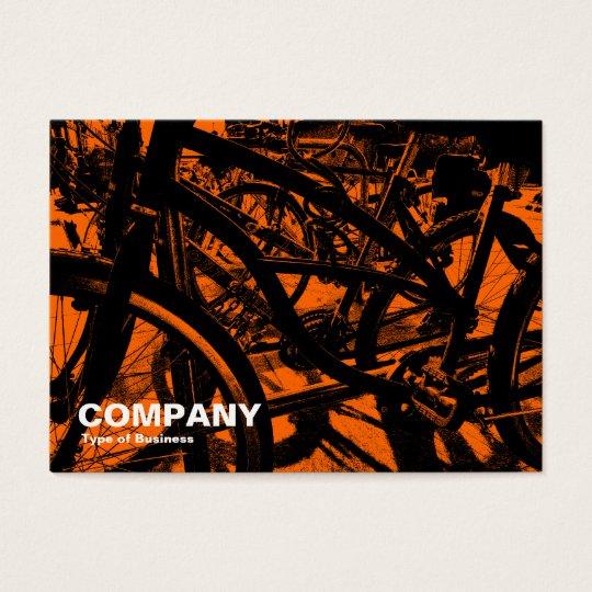 Bicycle Rack - In Orange Business Card