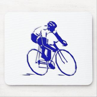 Bicycle Radler bicycle bike more rider Mouse Pad