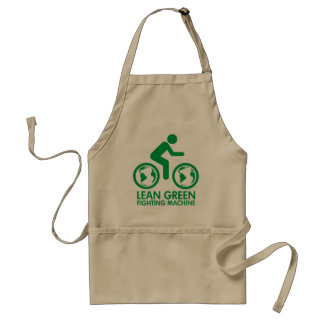 Bicycle Recycle Green Adult Apron