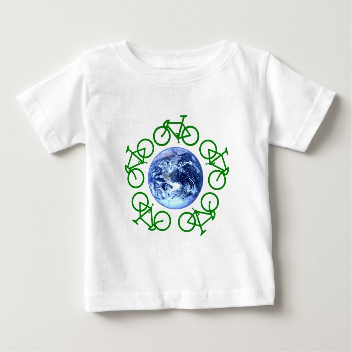 Bicycle Recycle Products Baby T-Shirt