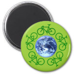 Bicycle Recycle Products Fridge Magnets