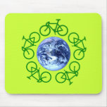 Bicycle Recycle Products Mouse Pad
