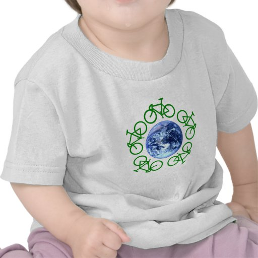 Bicycle Recycle Products Shirts
