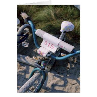 Bicycle Rental Cycle Bicycling Cycling Miami Beach Greeting Card