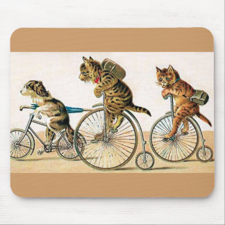 Bicycle Ride Mouse Pad
