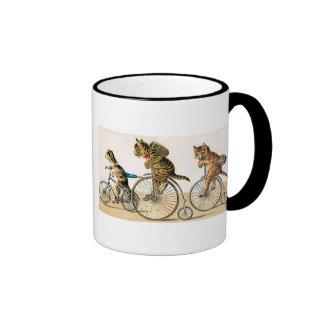 Bicycle Ride Ringer Coffee Mug