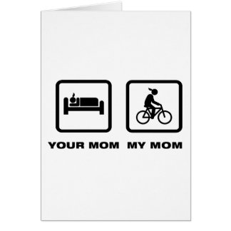 Bicycle Rider Greeting Cards