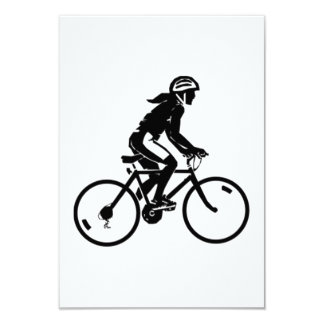 Bicycle Riding Card