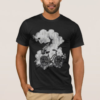 Bicycle riding through Clouds Shirt (TBA 9/3/12)