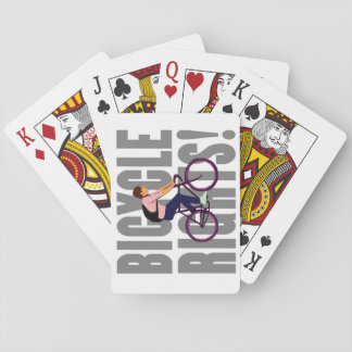 Bicycle Rights in Gray Poker Deck