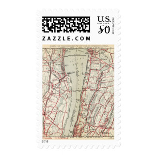 Bicycle Roads in New York and Conneticut 11 Postage