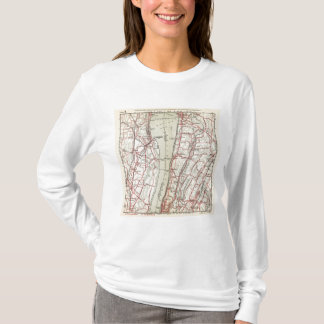 Bicycle Roads in New York and Conneticut 11 T-Shirt