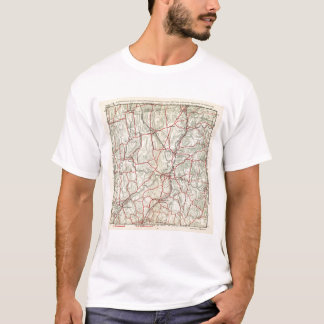 Bicycle Roads in New York and Conneticut 12 T-Shirt