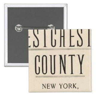 Bicycle Roads in New York and Conneticut 13 Pinback Button