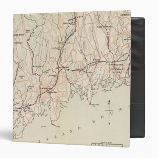 Bicycle Roads in New York and Conneticut 2 3 Ring Binder