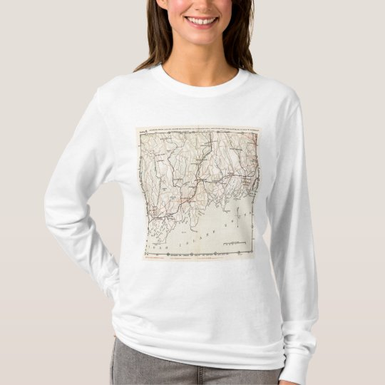 Bicycle Roads in New York and Conneticut 2 T-Shirt