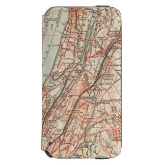Bicycle Roads in New York and Conneticut 3 iPhone 6/6s Wallet Case