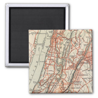 Bicycle Roads in New York and Conneticut 3 Magnet